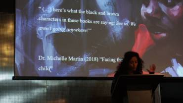 Sorte og brune børn i litteraturen